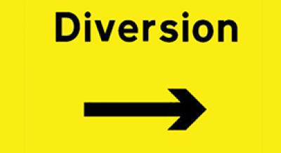 diversion-sign